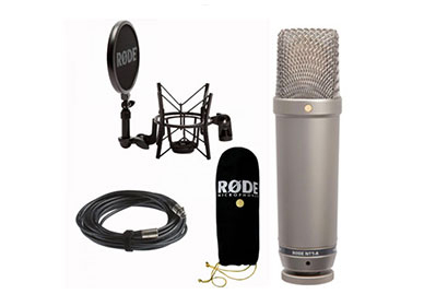 buy online Rode NT2-A Super-Cardioid Polar Pattern Studio Condenser Microphone with free home delivery