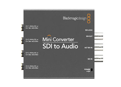 buy online Blackmagic Design Mini Converter Optical Fiber 12G with free home delivery